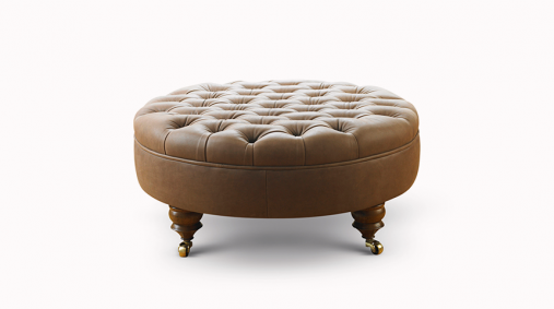 Chesterfield Stool