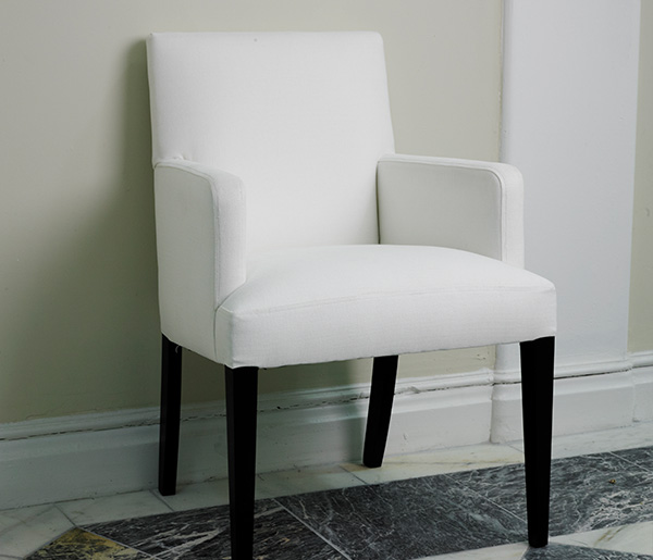 Bespoke Jamie Carver Dining Room Chairs, Dining Room Chairs With Arms